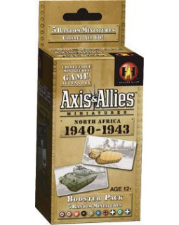 Axis & Allies Miniatures: North Africa 1940-1943 Booster
