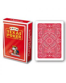 Modiano Texas Poker, red