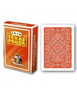 Карты Modiano Texas Poker, orange