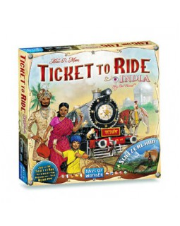 Ticket to Ride: India (Билет на поезд: Индия+Швейцария)